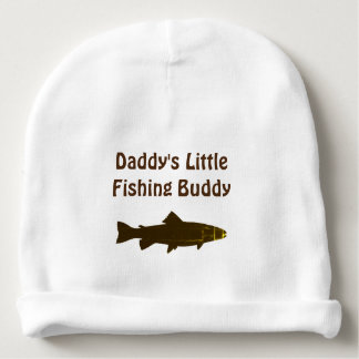 Daddy's Fishing Buddy Custom Baby Beanie