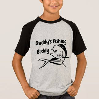 Daddy's Fishing Buddy - Mahi Boy's Fishing T-Shirt