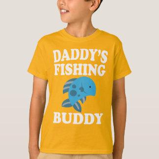 Daddy's Fishing Buddy Son Daughter Gift T-Shirt