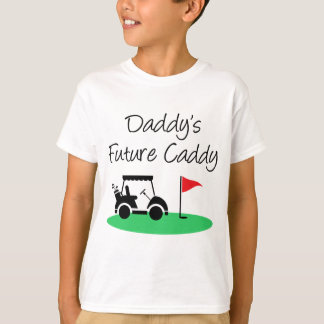 Daddy's Future Caddy Golf T-Shirt