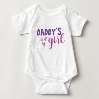 Daddys Girl Baby Outfit Baby Bodysuit