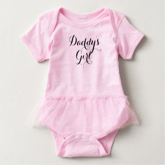 Daddy's Girl Cool Handmade Font Baby Bodysuit