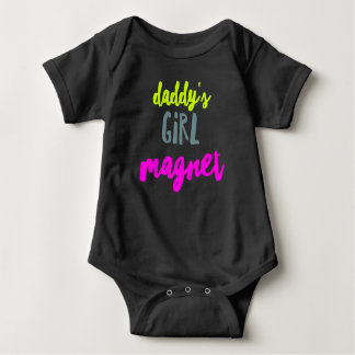 Daddy's Girl Magnet Baby Bodysuit