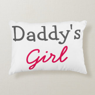 Daddy's Girl Pillow