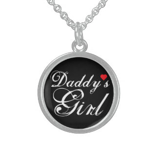 Daddy's Girl Sterling Silver Necklace