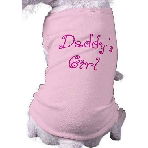 Daddy's Girl t-shirt for Dad's Dog Dog T Shirt