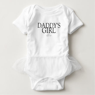 Daddy's Girl Tutu Baby Bodysuit