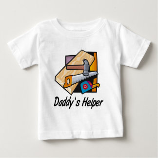 Daddy's Helper Carpentry Baby T-Shirt
