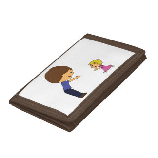 Daddy's Home! Chibis Trifold Wallets