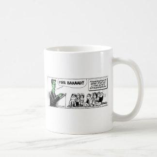 Daddy's Home Frankenstein Fire Safety Coffee Mug