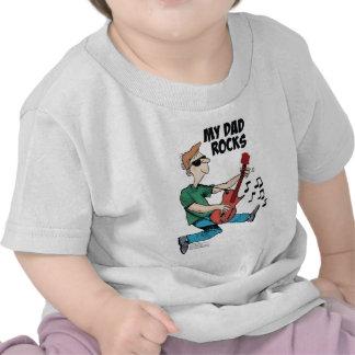 Daddy's Home My Dad Rocks Tshirts