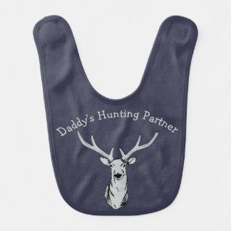 Daddy's Hunting Partner Deer Hunting Baby Bib