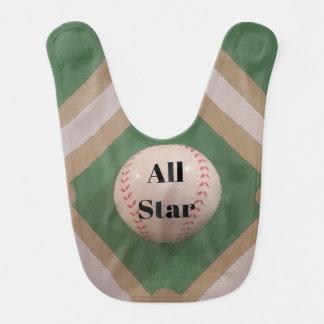 Daddy's Lil' All Star bib
