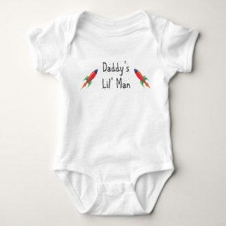 daddys lil man baby bodysuit