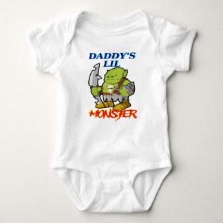 Daddy's LiL Monster! Baby Bodysuit