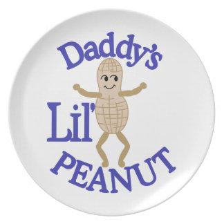 Daddy's Lil' Peanut Dinner Plates