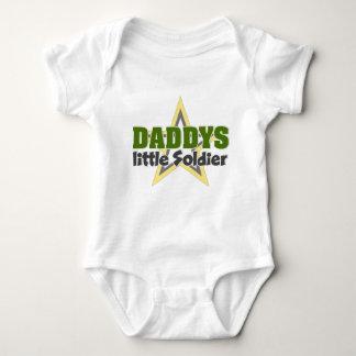 Daddys lil Soldier Baby Bodysuit