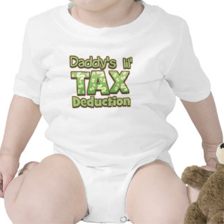 Daddy's Lil' Tax Deduction Baby Creeper