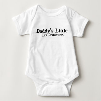 Daddy's Litte Tax Deduction Tees