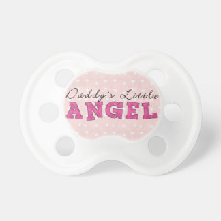 Daddy's Little Angel Girl BooginHead Pacifier