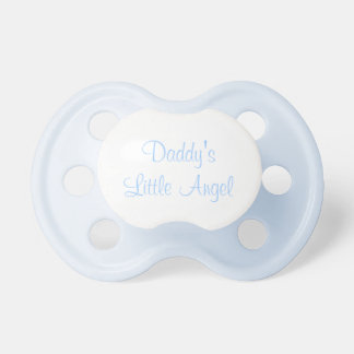 Daddy's little angel pacifier