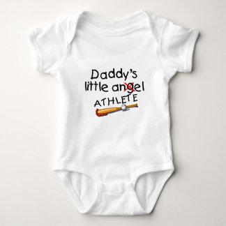 Daddy's Little Athlete Baby Bodysuit