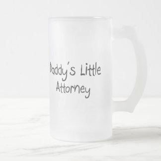 Daddy's Little Attorney Coffee Mugs