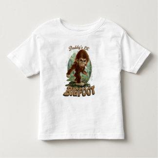 Daddy's Little Bigfoot Toddler T-Shirt
