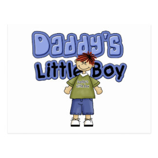 Daddy's Little Boy Tshirts and Gifts Postcard