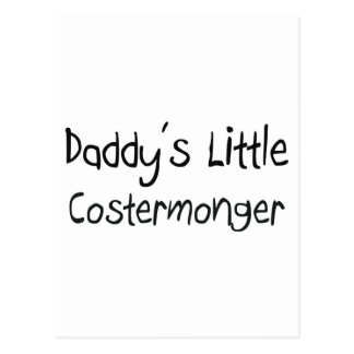 Daddy's Little Costermonger Postcard