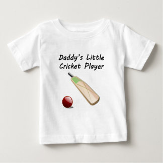 Daddy's Little Cricket Player Infant T-Shirt