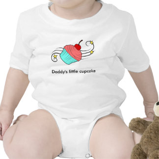 Daddy's Little Cupcake Baby Bodysuits