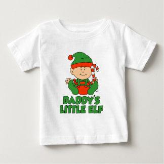 Daddy's Little Elf Baby T-Shirt