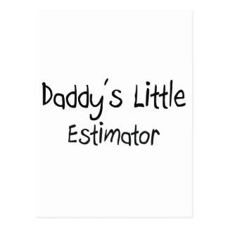 Daddy's Little Estimator Post Card