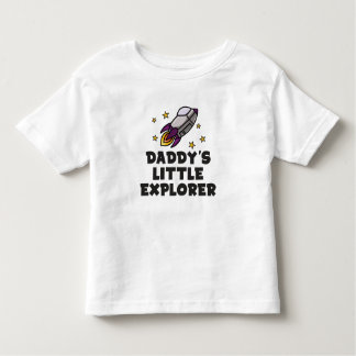 Daddy's Little Explorer Toddler T-Shirt