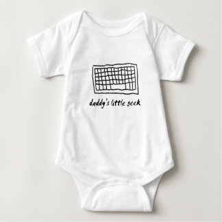 Daddy's Little Geek Baby Bodysuit