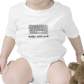 Daddy's Little Geek Baby Bodysuit
