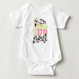 Daddy's Little Ghoul Halloween Baby Bodysuit