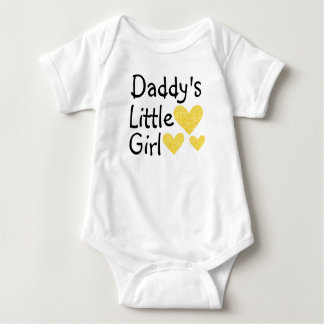 Daddy's Little Girl Infant Crawler Baby Bodysuit