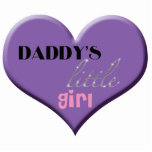 Daddy's Little Girl Photo Cut Out