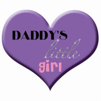 Daddy's Little Girl Photo Sculpture Decoration