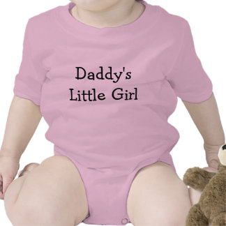 Daddy's Little Girl Bodysuits