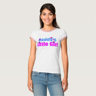 ❤✔Daddy's Little Girl Vintage-inspired T-Shirt
