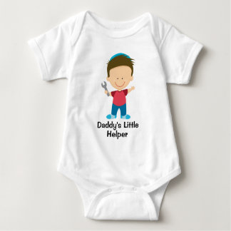 Daddy's Little Helper Boy Baby Bodysuit