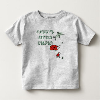 Daddy's little helper Lady bug cool custom shirt