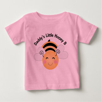 Daddys Little Honey Bee Shirt