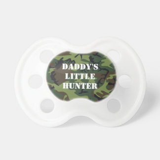 Daddy's little hunter pacifiers