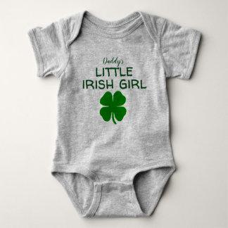 daddy's little irish girl baby bodysuit