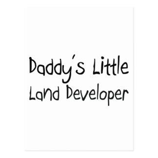 Daddy's Little Land Developer Postcard