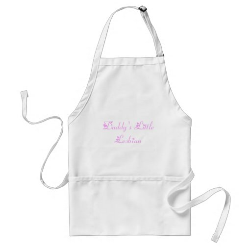 Daddy's Little Lesbian Aprons